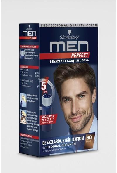 Schwarzkopf Men Perfect Jel Saç Boyası 60 Kahve