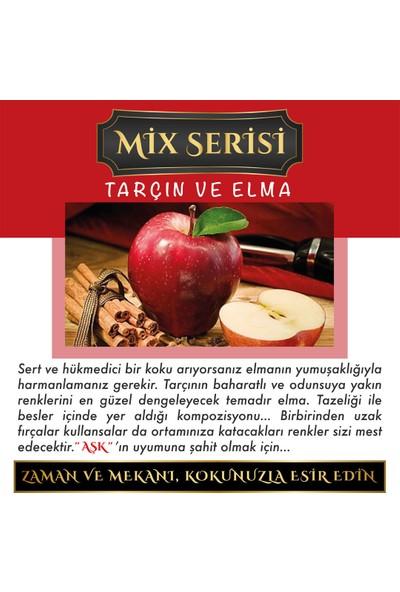 Aşk-ı Sermest Ölümsüz Aşk Mix Serisi Tarçın & Elma Kokulu 12 ml Elma Şişe Oto Kokusu