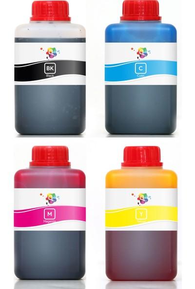 QC Lexmark Z614 Yazıcı Uyumlu Kartuş Mürekkebi PRO Serisi 500ml Set 4 Renk