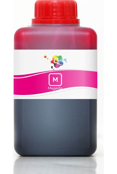 QC Lexmark X5270 Yazıcı Uyumlu Kartuş Mürekkebi PRO Serisi 500ml M Dye-Macenta