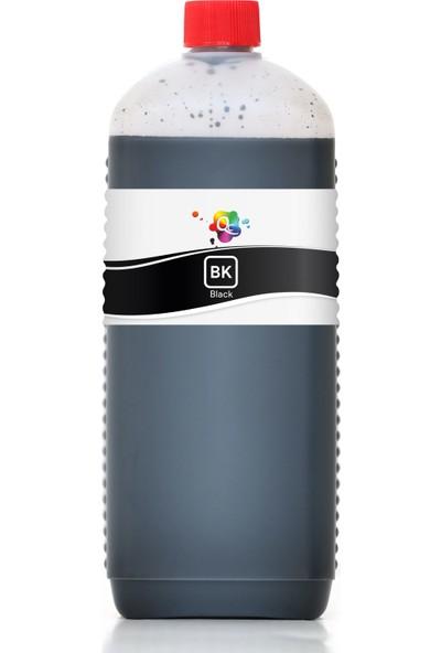 QC Lexmark X3300 Yazıcı Uyumlu Kartuş Mürekkebi PRO Serisi 1000ml BK Pigment-Siyah