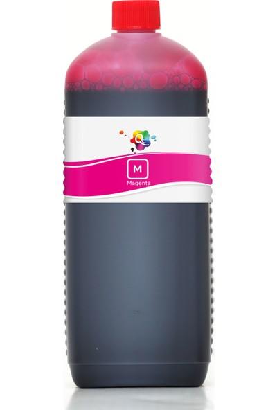 QC Lexmark X1155 Yazıcı Uyumlu Kartuş Mürekkebi PRO Serisi 1000ml M Dye-Macenta