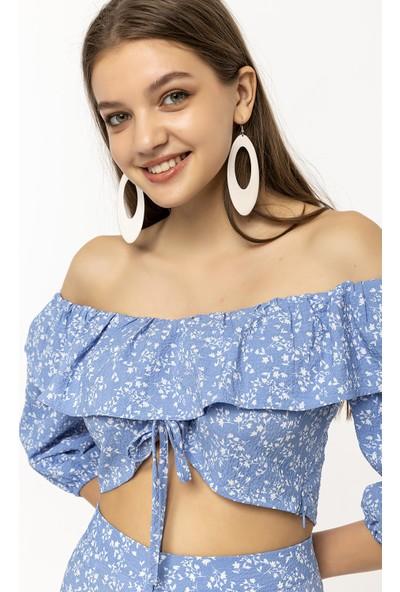 Coral Bluz Bebe Mavi