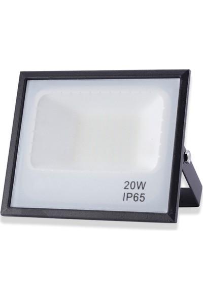 Akar 20 Watt Smd LED Projektör Yeşil Işık