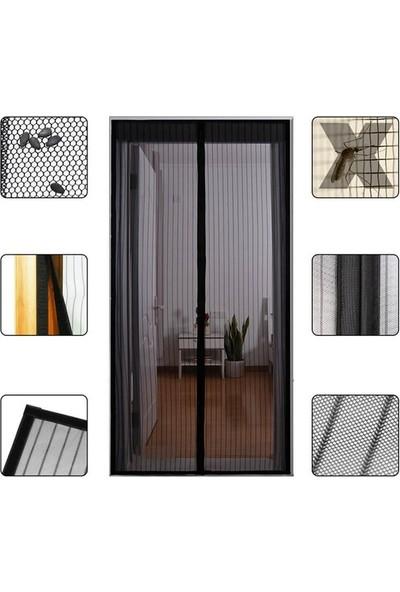 Justbuff 2 Adet Mıknatıslı Kapı Sinekliği - Sinek Perdesi - Sineklik 100 x 200 cm
