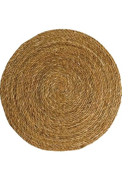 Bambum Amerikan Servis Hasır Supla Örme Bambu 4'lü Takım