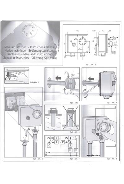 Imit Tlsc 542714 (0-90)°c Imıt Çiftli Kazan Termostatı