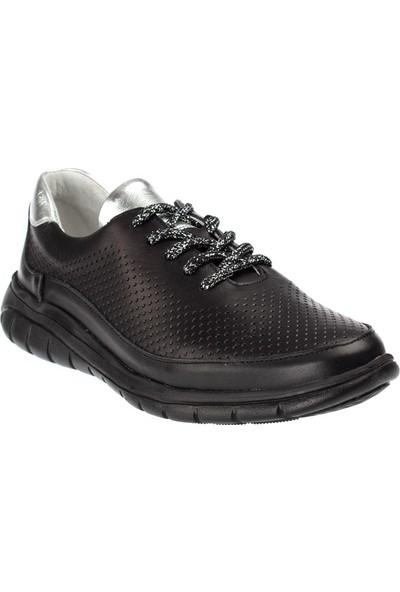 Celal Gültekin 231 Kadın Günlük Deri Beyaz Ayakkabı