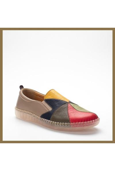 Celal Gültekin 20902 Kadın Ayakkabı Vizon