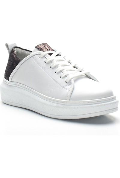 Celal Gültekin 20601 Kadın Ayakkabı Beyaz