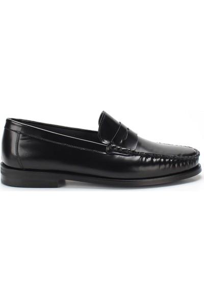 Celal Gültekin 202 Erkek Ayakkabı Siyah Açma Deri
