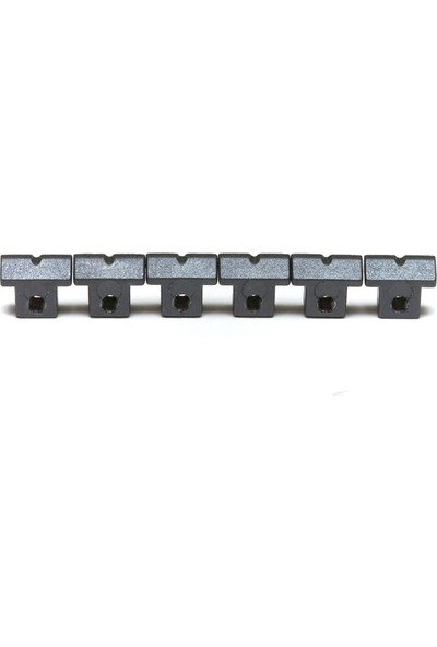 Graphtech PS-8600-00 String Saver Saddle Tune-O-Matic Gotoh (6pc) 6 Adet Eşik