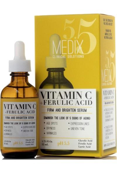 Medix 5.5 Vitamin C + Ferulic Acid Yüz Serumu 52ML