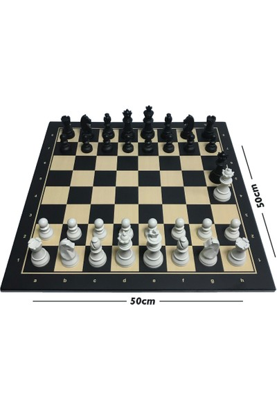 Yeni Satranç Floklu Profesyonel Satranç Takımı