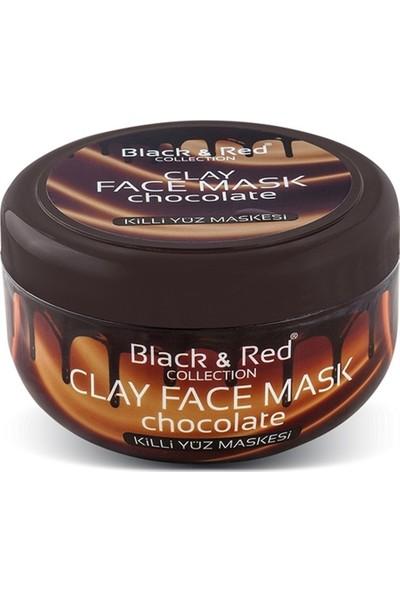 Black & Red Çikolatalı Kil Maskesi