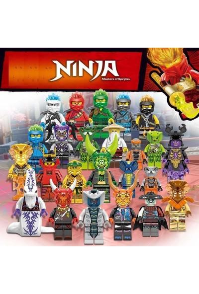 Xinh Ninjago Secrets Of The Forbidden 24LÜ Mini Figür Süper Set St-2