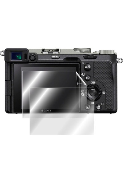 IPG Sony Alpha 7c Digital Kamera Ekran Koruyucu Şeffaf (2 Adet)
