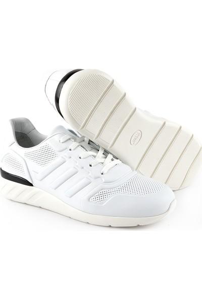 Libero L3689 Erkek Deri Ayakkabı Beyaz