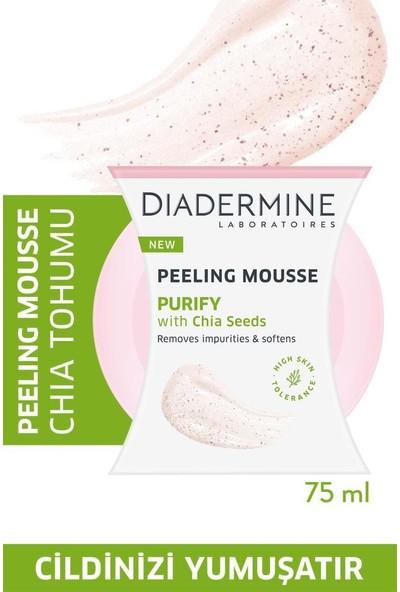 Diadermine Peeling Mousse-Arındırıcı Köpük Peeling Chia Tohumu 75 ml