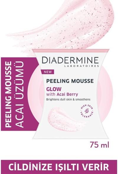 Diadermine Peeling Mousse - Işıltı Veren Köpük Peeling Acai Üzümü 75 ml