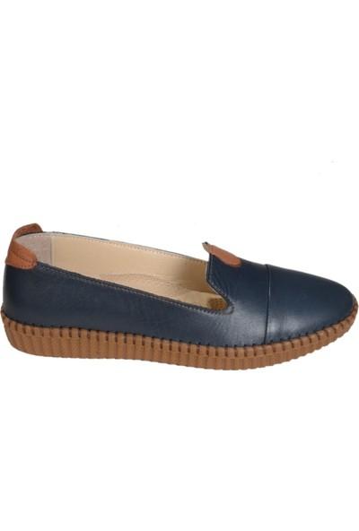 Golden Mountain Ercan P01 Kadın Günlük Deri Ayakkabı