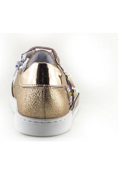 Minipicco Kız Cocuk Bakır Anatomik Destekli Çocuk Ayakkabı
