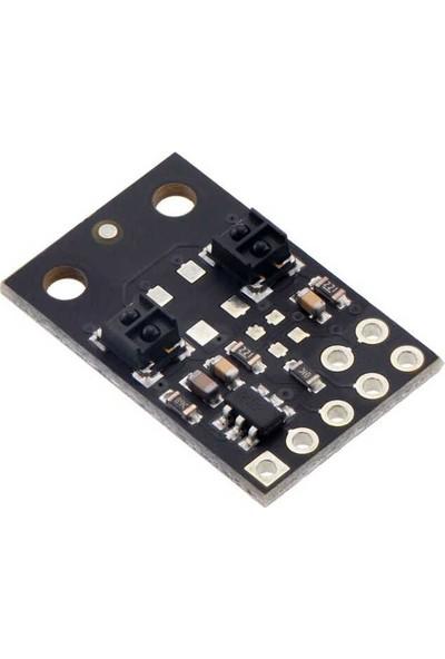 Pololu QTRX-MD-02RC 2'li Çizgi Algılama Sensörü (Seyrek Sensör Dizilimli)