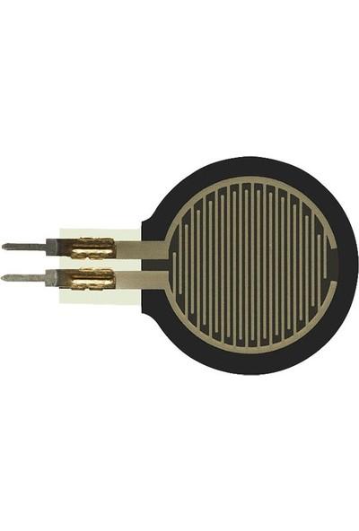 Pololu 0.6 Inch Kuvvete Duyarlı Kısa Saplı Dairesel Sensör - Force-Sensing Resistor - PL-2728