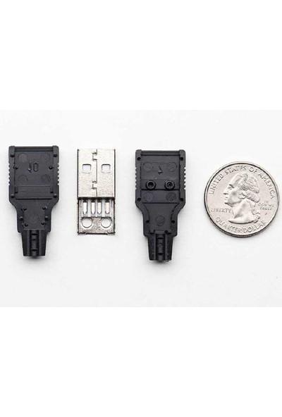 TL USB A Tipi Kılıflı Soket (Erkek)