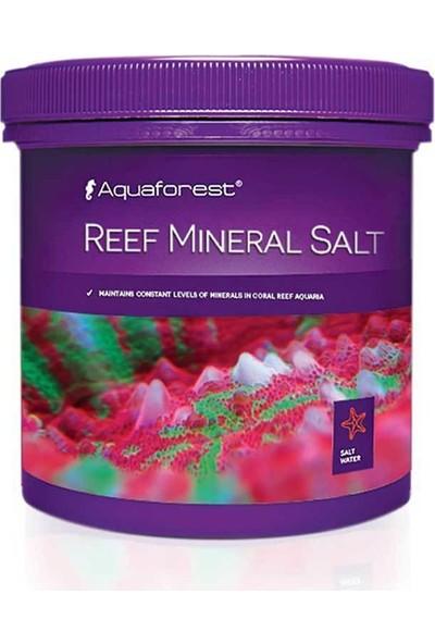 Aqua Forest Aquaforest Reef Mineral Salt Akvaryum Deniz Tuzu 400 gr