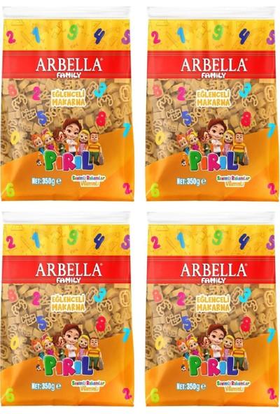 Arbella Vitaminli Makarna Pırıl Lisnslı 350 gr x 4