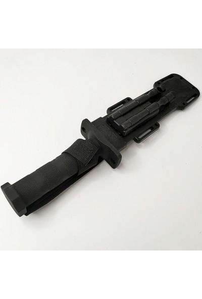 Columbia 30 cm Sert Kılıflı Magnezyum Çubuklu Avcı Bıçağı