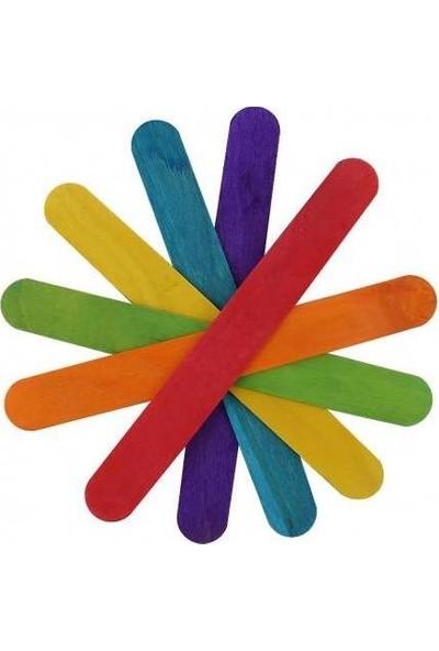 Pinokyo Renkli Abeslang Çubuğu 50'li 2 Paket