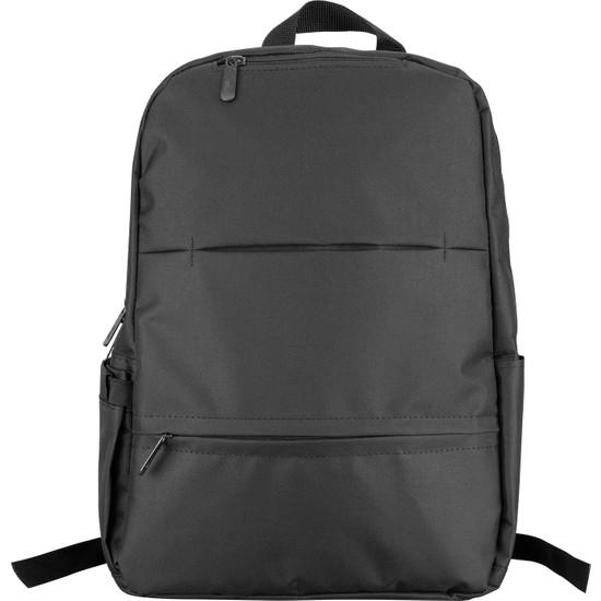 """Addison 300812 13""""- 15.6"""" Siyah Renk Günlük Kullanım ve Notebook Sırt Çantası"""