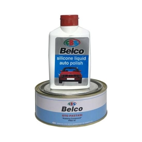 Çbs Belco Silikonlu Cila 250 ml + Çbs Belco Pasta 500 gr