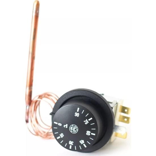 Imit TR2/540389 (0-90°c) 1 mt Isıtıcı Termostat-Çift Kontaklı