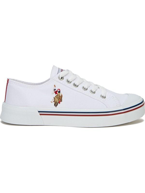 U.S. Polo Assn. Beyaz Ayakkabı 50234379-VR013