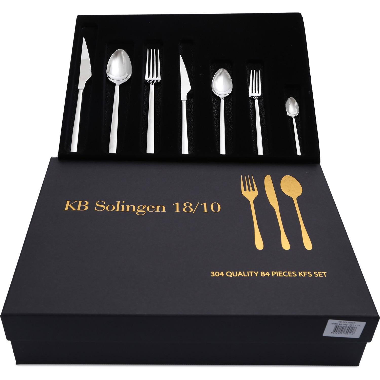 Solingen 84 Parça Löwe Çatal Kaşık Bıçak Seti Fiyatı