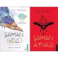 Şaman Gözü - Şaman Aynası (Asu Mansur 2 Kitap) + Tohumlu Kurşun Kalem