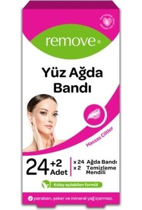 Remove Yüz Ağda Bandı 24 Lü Set Hassas Ciltler