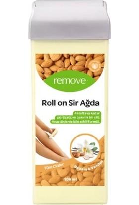 Remove Roll-On Sir Ağda Badem ve Vanilya Özlü Tüm Ciltler 100 ml