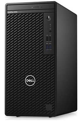 Dell Optiplex 3080MT Intel Core i3 10100 16GB 256GB SSD Ubuntu Masaüstü Bilgisayar N005O3080MT5_U