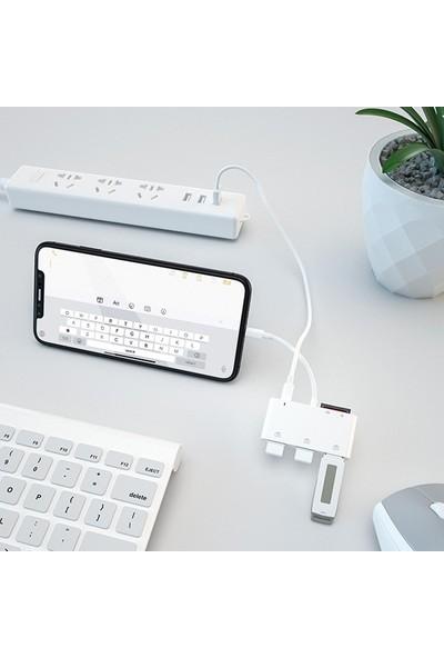Lightning To Tf Sd Card Reader USB 3 Kamera Adaptörü + Lightnig Kablo