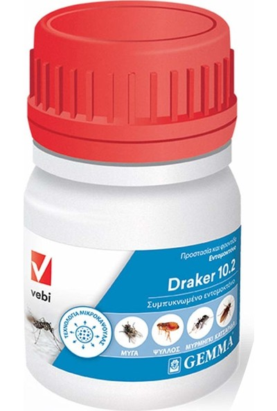 DRAKER DRAKER10.2 Konsantre 50 ml Akrep,çıyan, Böcek