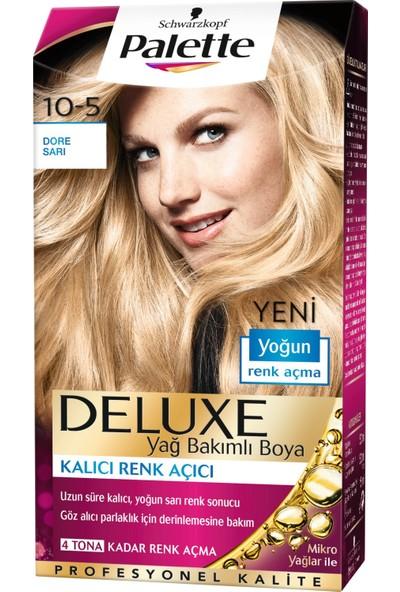 Palette Deluxe Saç Boyası 10.5 Dore Sarı