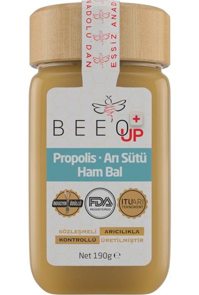 Bee'o Up Propolis + Arı Sütü + Ham Bal (Yetişkin)