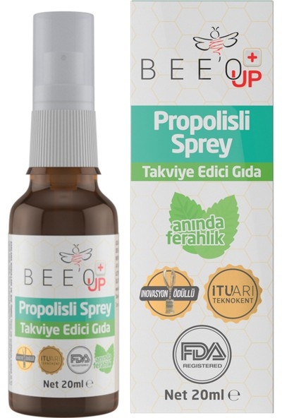 Bee'o Up Propolisli Boğaz Spreyi