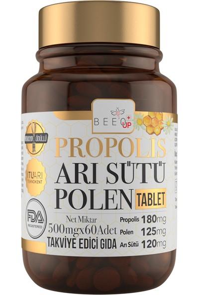 Bee'o Up Propolis Arı Sütü Polen Tablet 500 Mg x 60 'lı