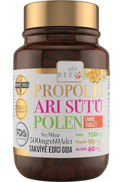 Bee'o Up Propolis Arı Sütü Polen Emme Tablet 500 Mg x 60 'lı