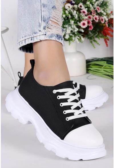 Step Pnt 471021 Günlük Bağcıklı Kadın Spor Ayakkabı